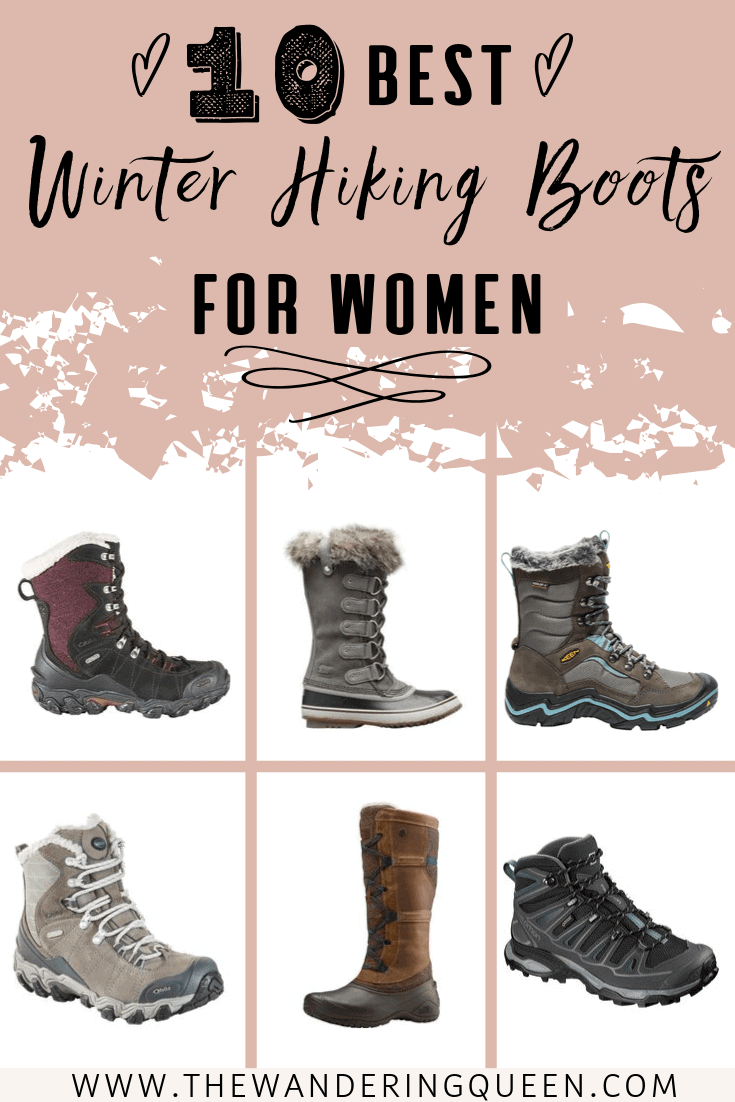 The Best Women's Winter Hiking Boots of 2020 The Wandering